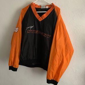 tony stewart 20 winners circle winbreaker sweater